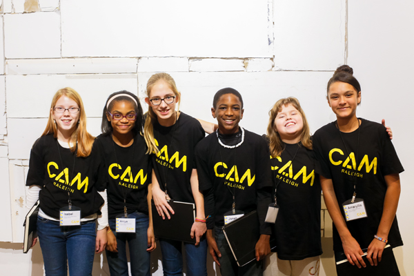 CAM Raleigh Middle School Docents