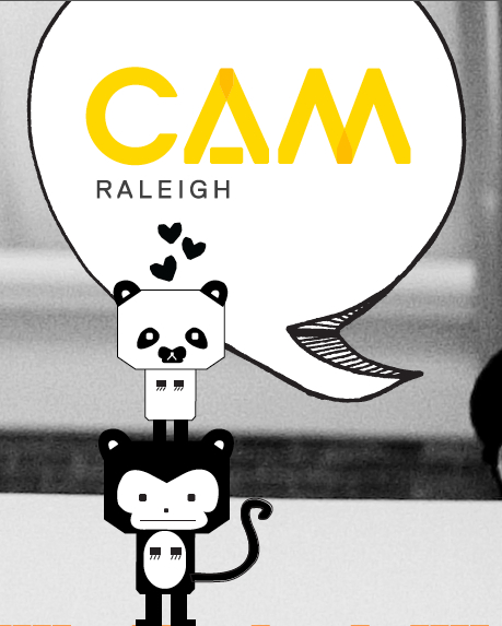 Detail of Design Camp Check-in Poster