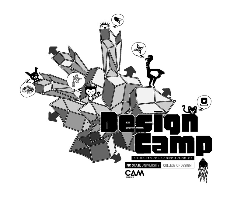 Design Camp T-shirt Graphic