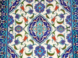 Iznik tiles, c. 16th century