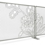 Demakersvan, Lace Fence,	 2005,  Courtesy of Droog