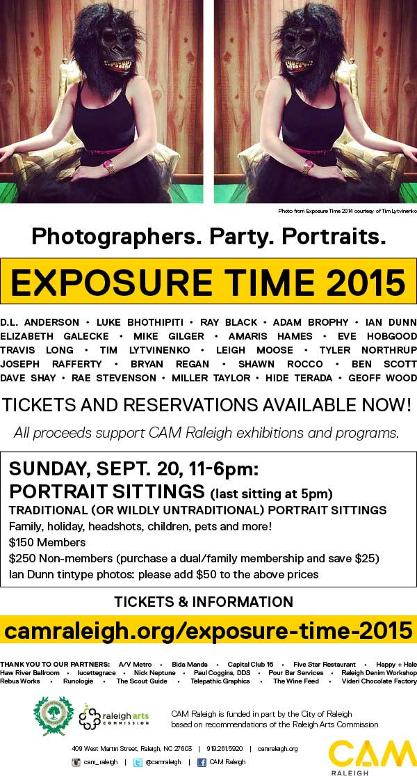 Exposure Time - Sunday portrait sittings