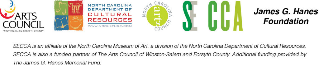 Point & Counterpoint: NC Arts Council Fellows 2014-2015 collaborators logos