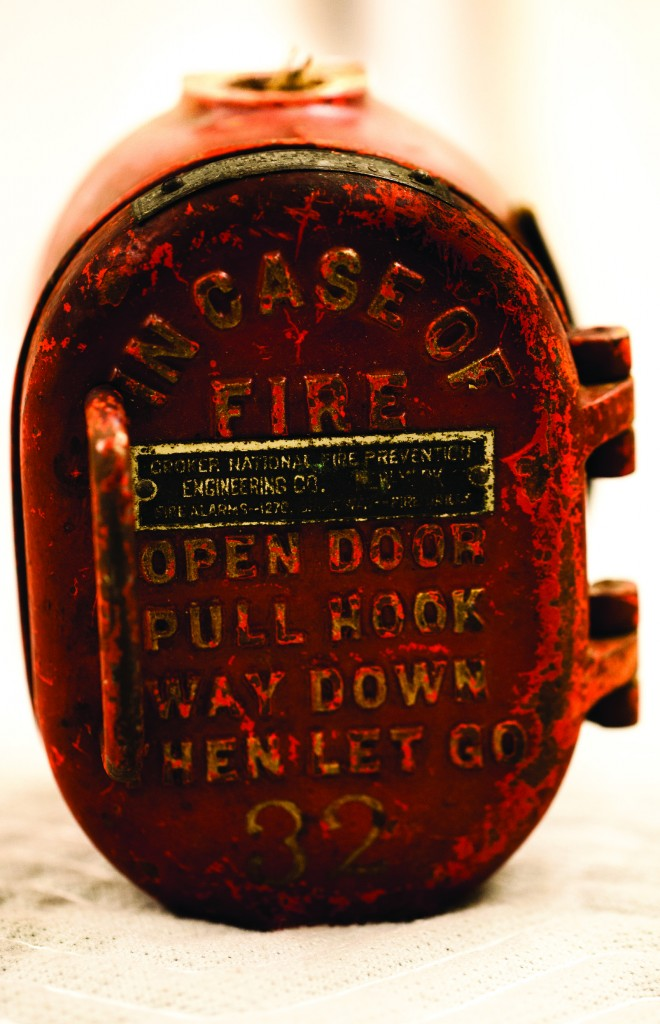 Big, Bent Ears - Joseph Mitchell's fire alarm