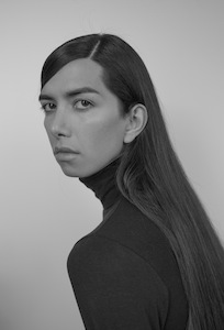 Black and white headshot of Martine Gutierrez