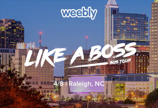 "Weebly ""Like a boss"" cityscape image"
