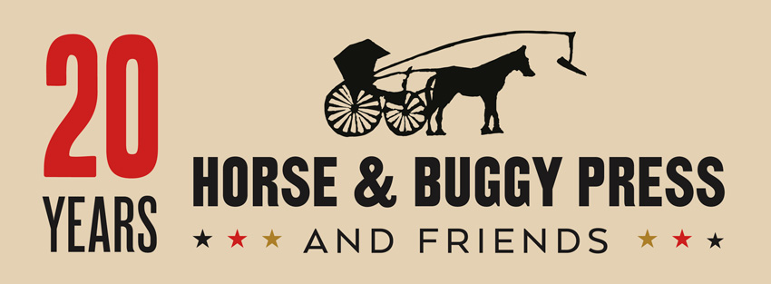 20 Years of Horse & Buggy Press (and friends) logo