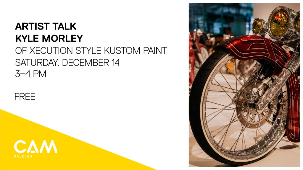 Artist Talk: Kyle Morley of Xecution Style Kustom Paint, December 14, 3–4pm