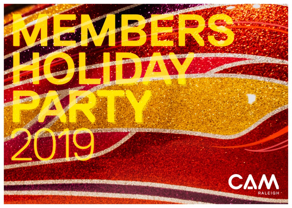 Members Holiday Party 2019, December 8, 5–7pm