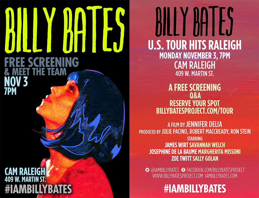 Billy Bates poster