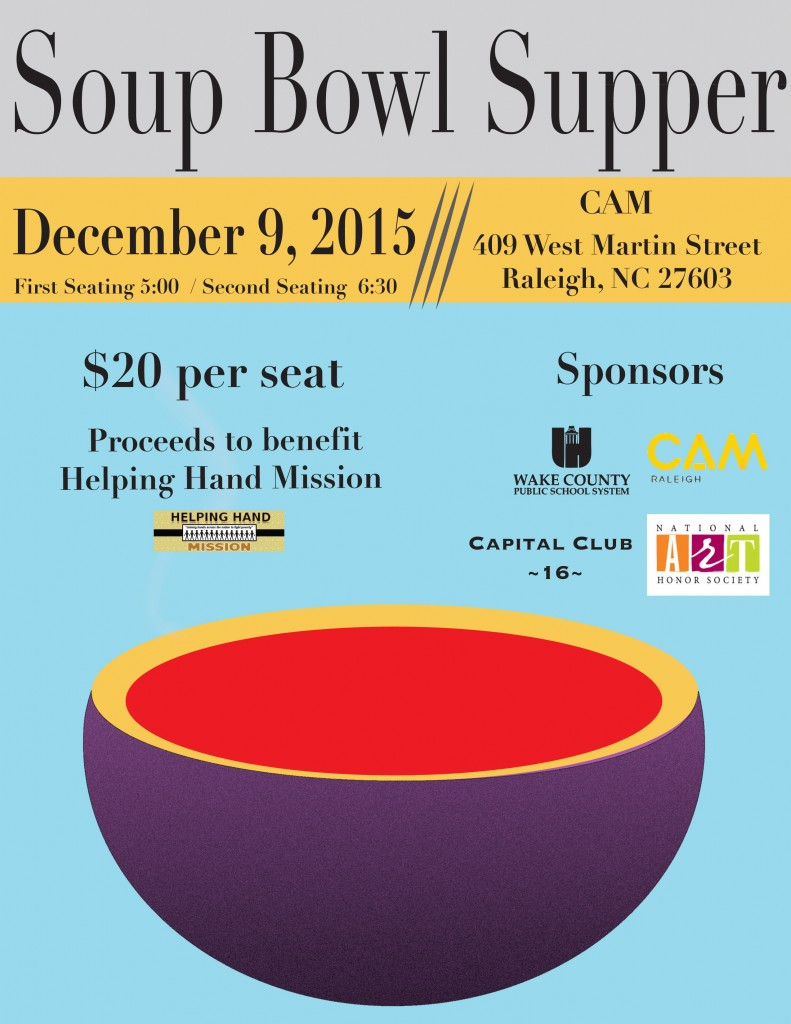Soup Bowl Supper - proceeds to benefit Helping Hands Mission