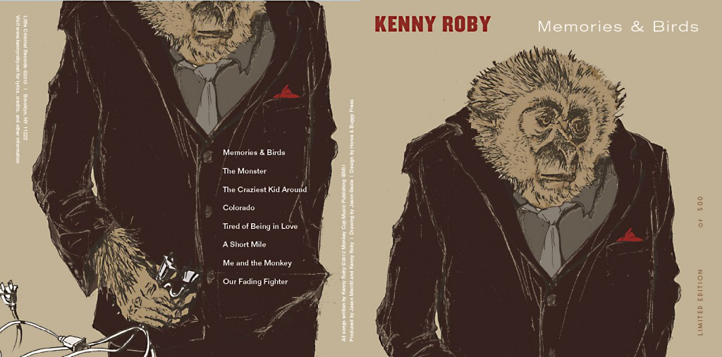 Kenny Roby cd cover