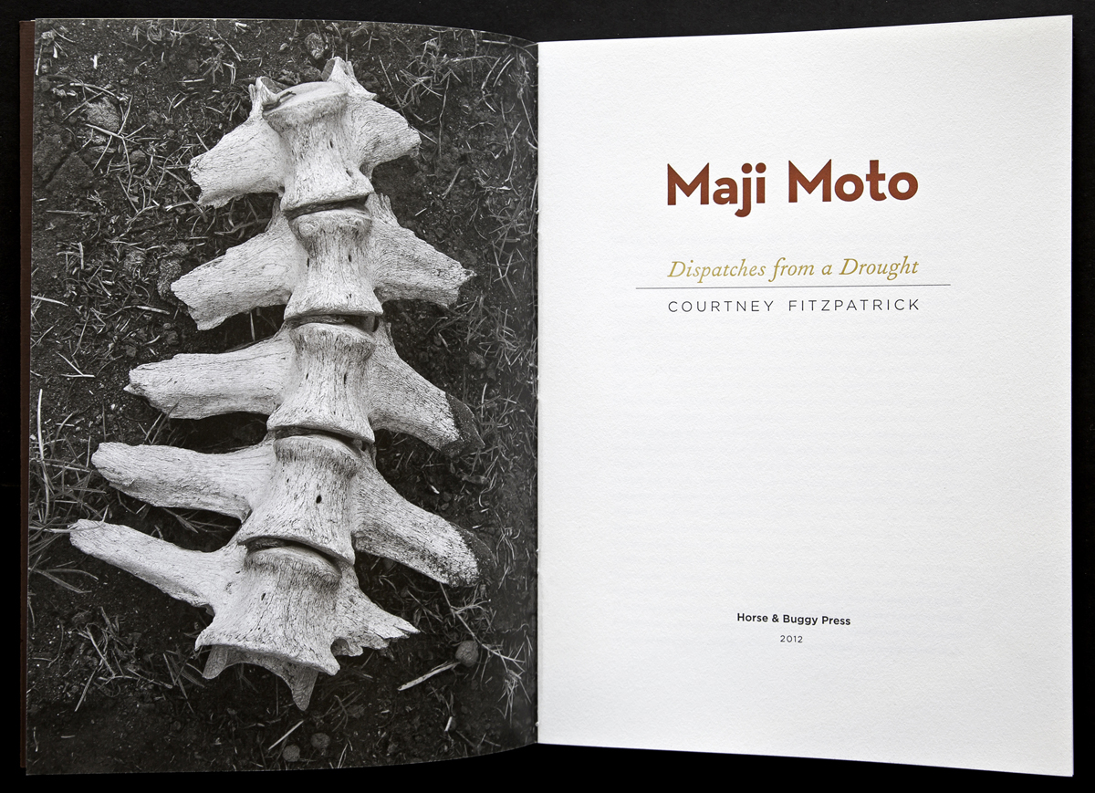 Book spread of Maji Moto