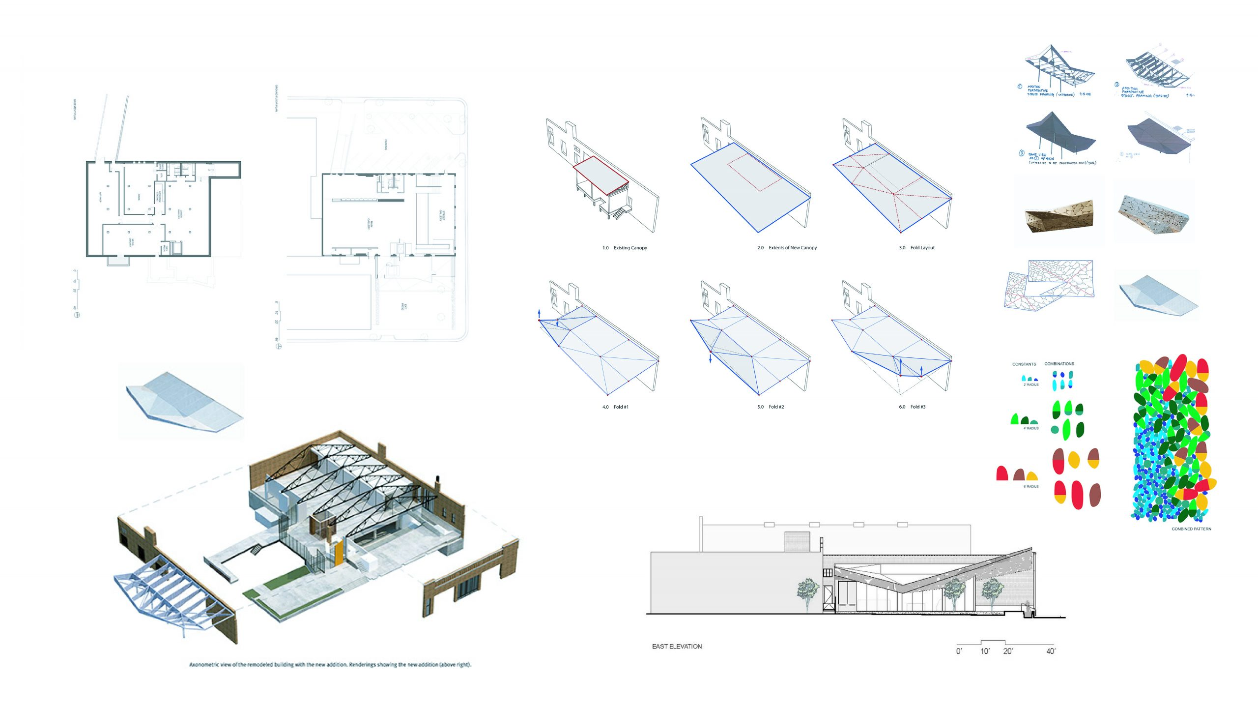 CAM Raleigh Architectural drawings